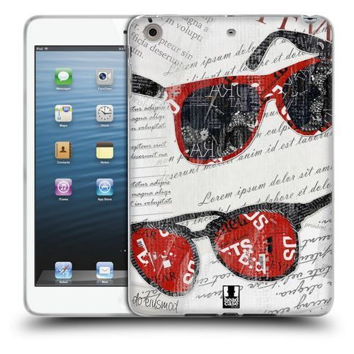 Etui silikonowe na tablet - Fashion Collage SUNGLASSES