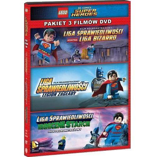 FILM LEGO® LIGA SPRAWIEDLIWOŚCI: KOLEKCJA 3 FILMÓW