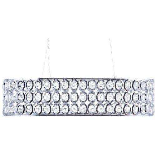 Lampa wisząca chromowana/kryształowa TENNA L