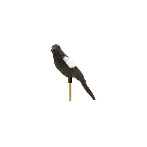 Makieta ptaka - sroka. Sztuczny ptak na balkon.