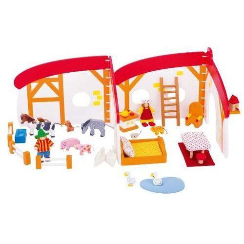 Domek dla lalek - farma - zabawki dla dzieci marki Goki