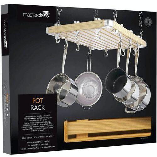 Wieszak na garnki i patelnie nad wyspę kuchenną kitchen craft (mcpotrack) (5028250147370)