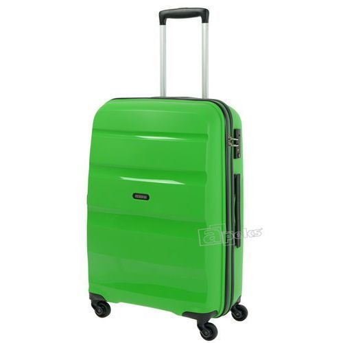 American tourister bon air średnia walizka 66 cm / zielona - pop green
