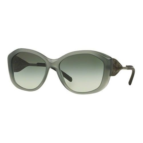 Okulary Słoneczne Burberry BE4208QF Gabardine Lace Asian Fit 35718E, kolor żółty