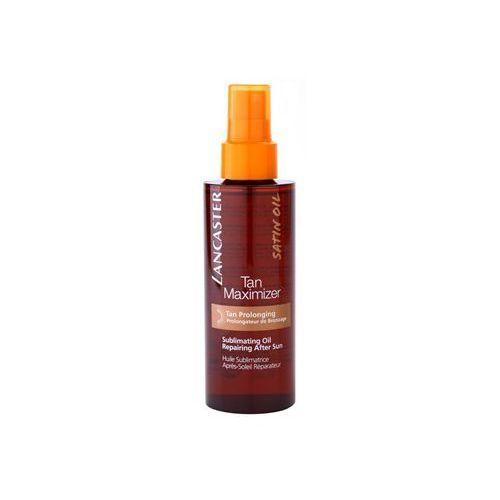 Lancaster  tan maximizer suchy olejek regenerujący przedłużający opaleniznę do twarzy i ciała (sublimating oil repairing after sun) 150 ml