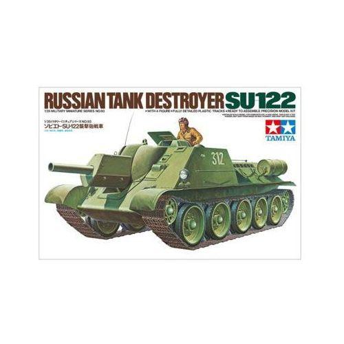 Tamiya Mode plastikowyl Rosyjskie działo samobieżne SU-122 (4950344964208)
