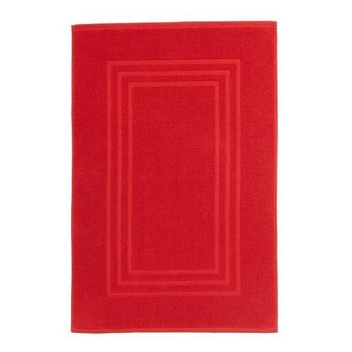 Dywanik łazienkowy palmi 50 x 80 cm czerwony marki Cooke&lewis