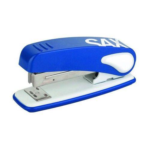 Zszywacz sax239 design, zszywa do 25 kartek, niebieski marki Heinrich sachs