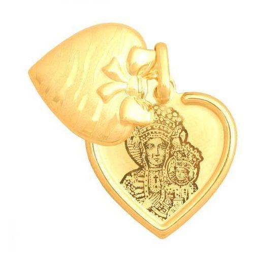 Złoty medalik - 20155 - pr.585 wyprodukowany przez Rodium