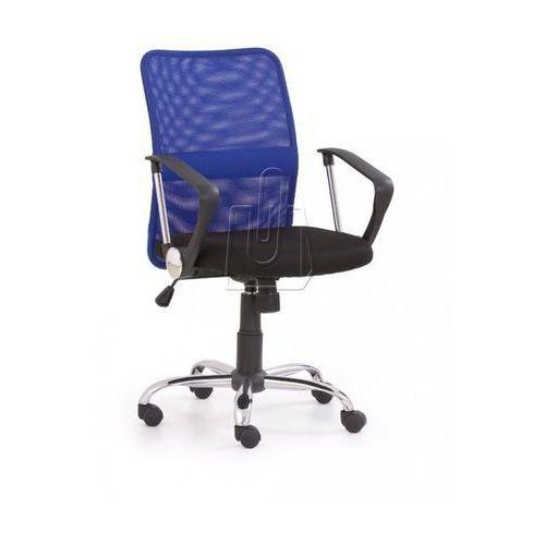 Fotel pracowniczy Tony niebieski - gwarancja bezpiecznych zakupów - WYSYŁKA 24H (2010000177297)