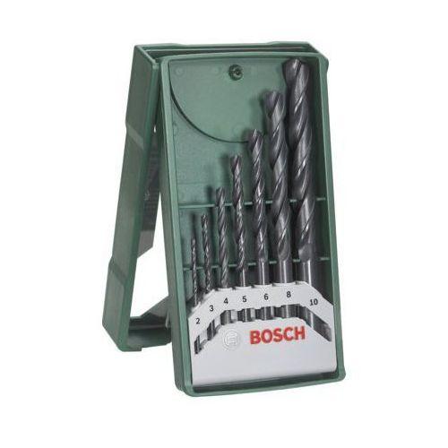 Zestaw wierteł do drewna BOSCH X-Line 2-10 mm (7 elementów) (3165140465250)