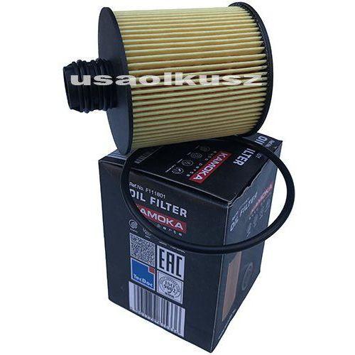 Kamoka Wkład filtra oleju silnika jeep cherokee kl td 2014-