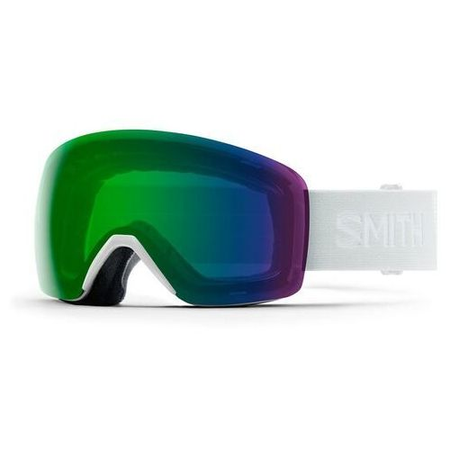gogle snowboardowe SMITH - Skyline White Vapor 19 Chromapop Ed Green (99XP) rozmiar: OS