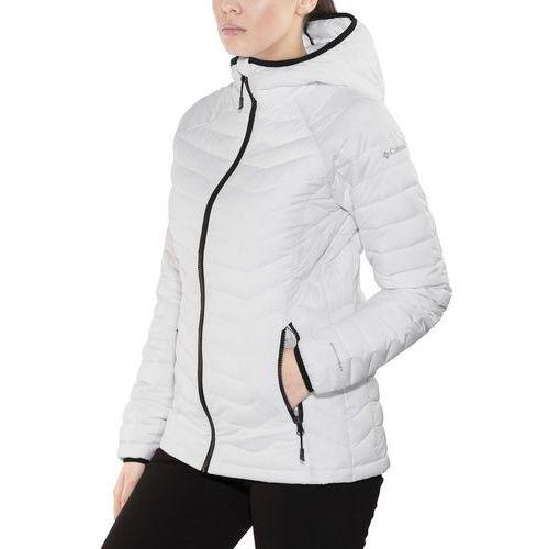 Columbia powder lite kurtka kobiety biały xs 2018 kurtki zimowe i kurtki parki