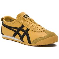 Sneakersy ASICS - ONITSUKA TIGER Mexico 66 DL408 Yellow/Black 0490, kolor żółty