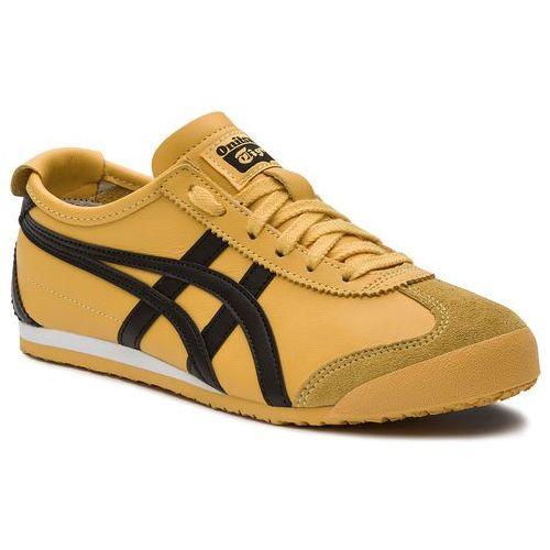 Sneakersy ASICS - ONITSUKA TIGER Mexico 66 DL408 Yellow/Black 0490, kolor żółty