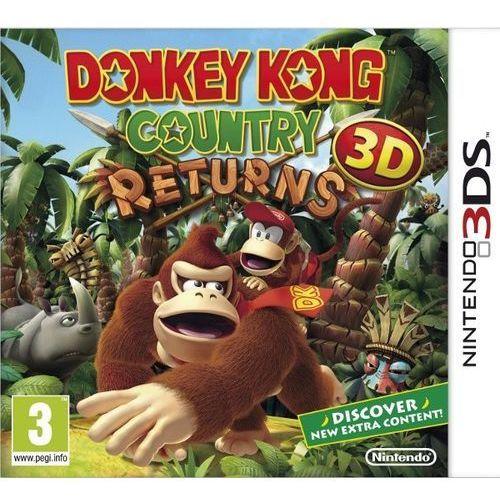 Gra 3ds donkey kong country returns 3d marki Nintendo