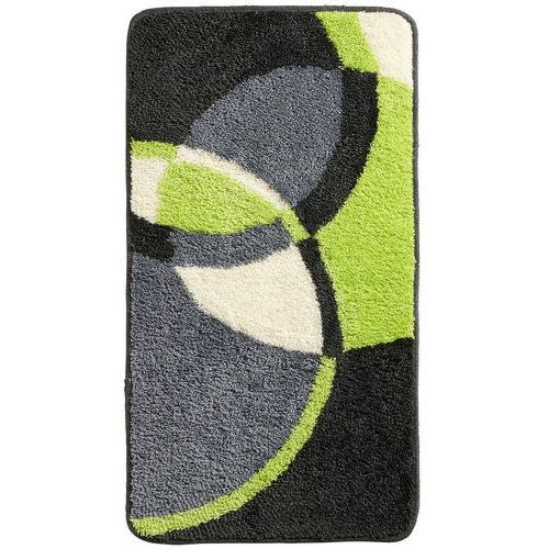Dywaniki łazienkowe w kolorowy wzór zielony marki Bonprix