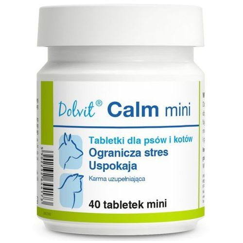 DOLVIT CANIS/CAT CALM MINI 40 TABL.