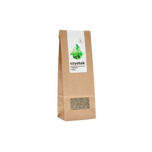 Czystek z jabłkiem i miętą - herbata ziołowa (100 g) Aura Herbals (5902479610238)