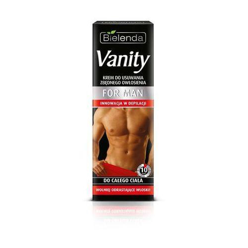 vanity for men krem do depilacji ciała marki Bielenda