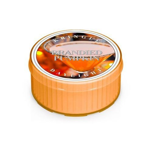 Brandied Pumpkin mała świeca Kringle Candle Dynia i Koniak - Daylight 1,25oz, 35g, 1 knot