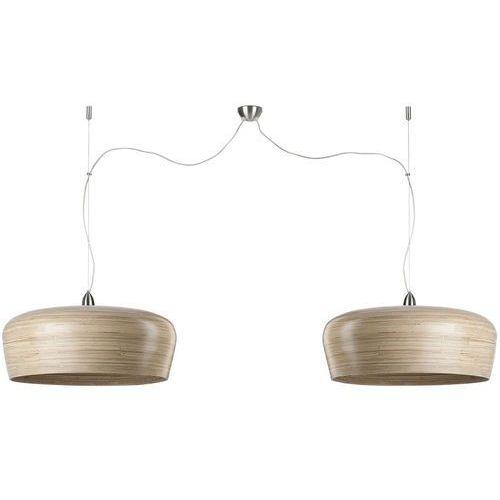 It's about romi lampa wisząca bambusowa hanoi naturalna podwójna 60x25cm hanoi/h2/n