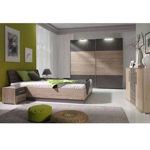 łóżko z płyty alton z pojemnikiem 160 x 200 wyprodukowany przez Frankhauer