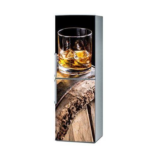 Mata magnetyczna na lodówkę - whiskey na dębowej beczce 4328 od producenta Stikero