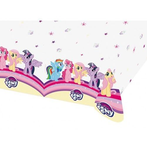 Obrus urodzinowy My Little Pony - 120 x 180 cm - 1 szt.