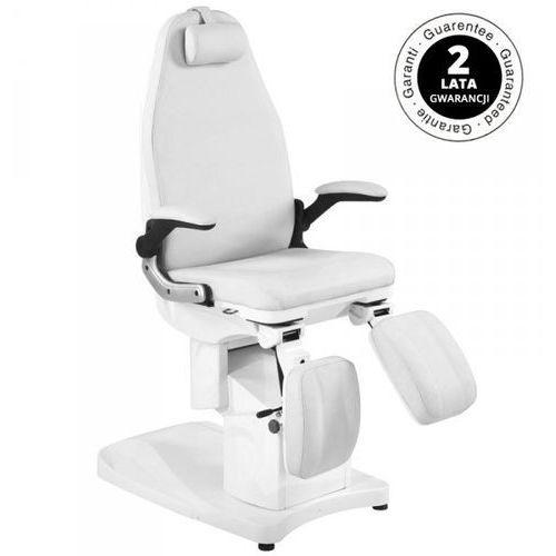 Vanity_a Fotel podologiczny elektr. azzurro 709a 3 siln. biały