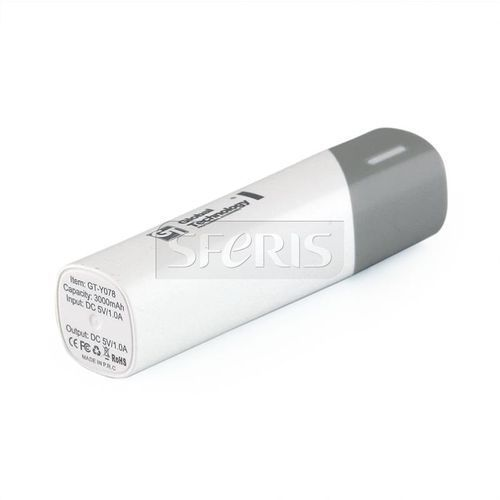 GLOBAL TECHNOLOGY POWER BANK GT-Y078 3000 mAh - 5901836981493