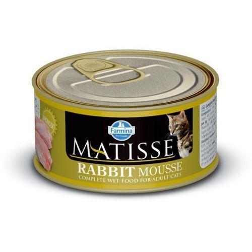 MATISSE CAT MOUSSE z królikiem 85g