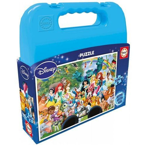 Walizka puzzle 100 disney world marki Educa