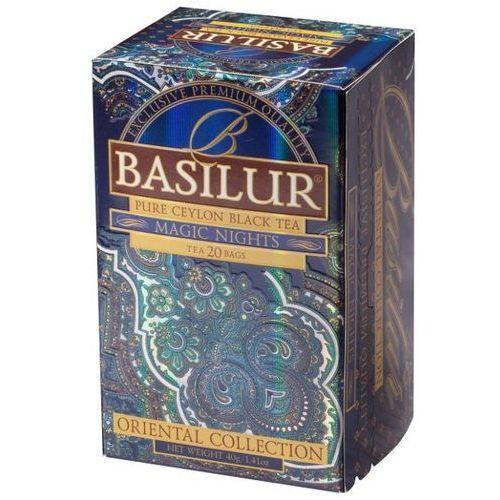 70416 20x2g magic nights herbata czarna kopertowana | darmowa dostawa od 150 zł! wyprodukowany przez Basilur