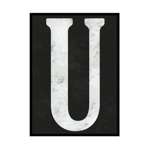 Obraz litera u 70 x 100 cm marki Knor