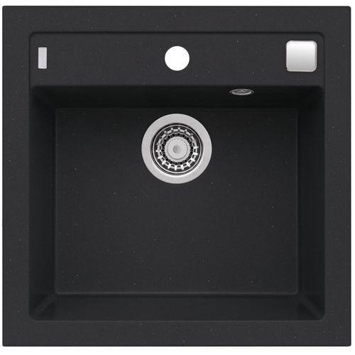 Zlewozmywak formic 20 kol. 91 czarny marki Alveus