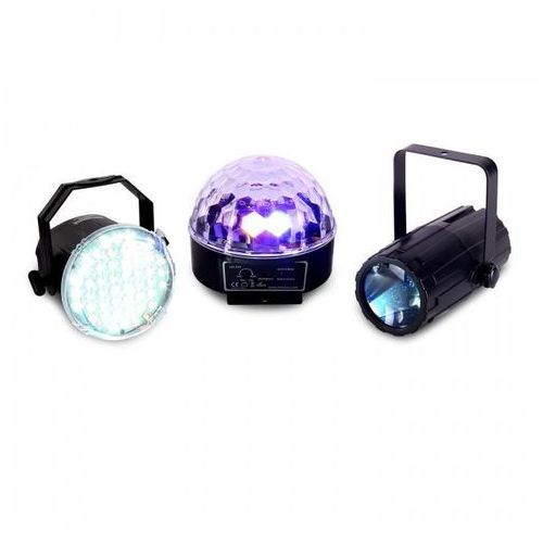 Zestaw efektów świetlnych LED Beamz Light Package 1 3-części (8715693267259)