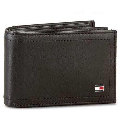 Mały Portfel Męski TOMMY HILFIGER - Harry Mini Cc Flap And Coin Pocket AM0AM01257 Black 002