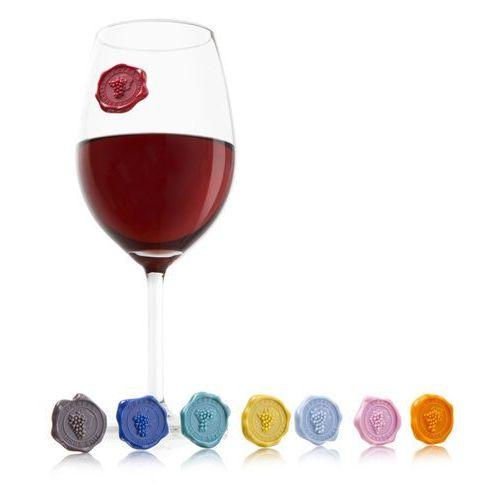 - znaczki na szklanki i kieliszki klasyczne marki Vacu vin