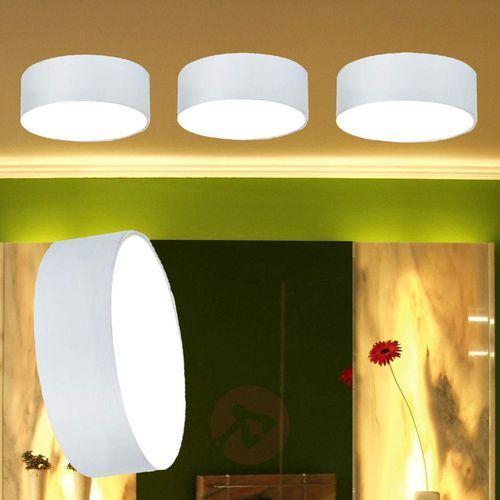 Okrągła lampa wpuszczana LED POLAS chłodno-biała