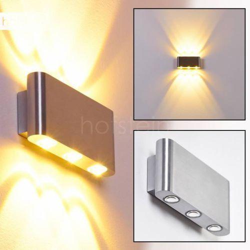 B-Leuchten Lente lampa ścienna LED Aluminium, 6-punktowe - - Obszar zewnętrzny - Lente - Czas dostawy: od 2-4 dni roboczych