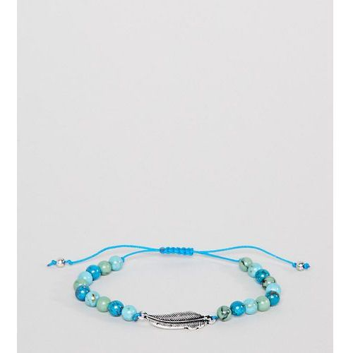 Reclaimed Vintage Inspired Blue Beaded Bracelet Exclusive To ASOS - Blue