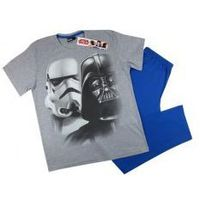 Star wars - gwiezdne wojny Męska piżama star wars ''darth'' niebieska l