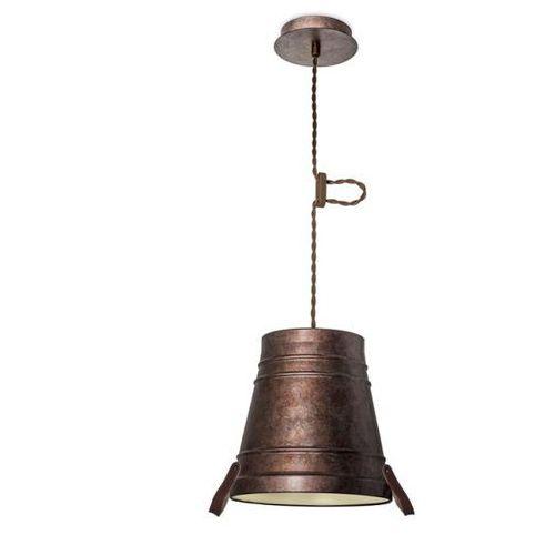 Leds c4 Lampa wisząca bucket mała postarzały brąz, 00-2708-cg-16