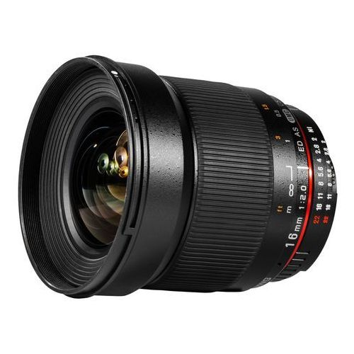 Samyang 16mm f/2.0 ED AS UMC CS CANON - produkt w magazynie - szybka wysyłka! (8809298882013)