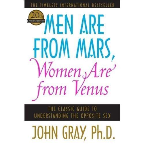 Men Are from Mars, Women Are from Venus. Männer sind anders. Frauen auch, englische Ausgabe (9780060574215)