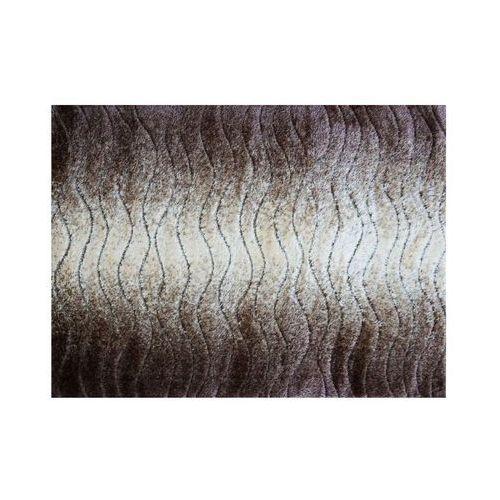 Dywan 160x220 seher 3d fale marki Black red white