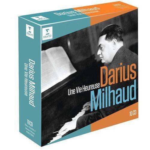 Warner music / erato Darius milhaud - une vie heureuse - różni wykonawcy (płyta cd) (0825646348442)