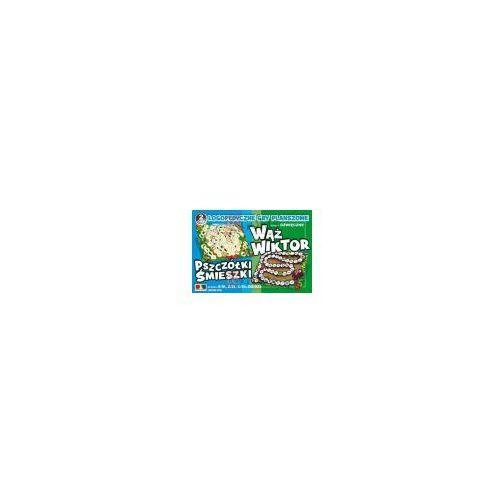 Wąż wiktor pszczółki śmieszki: logopedyczne gry planszowe marki Komlogo